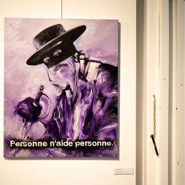 """Exposition """"Histoire, histoires en peintures"""" au Val Fleury  Rez-de-chaussée - Bruno Perramant"""