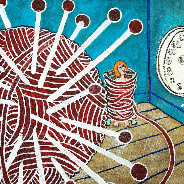 Exposition de Médee : 55 jours de confinement : Itinéraire chaotique d'un voyage intérieur