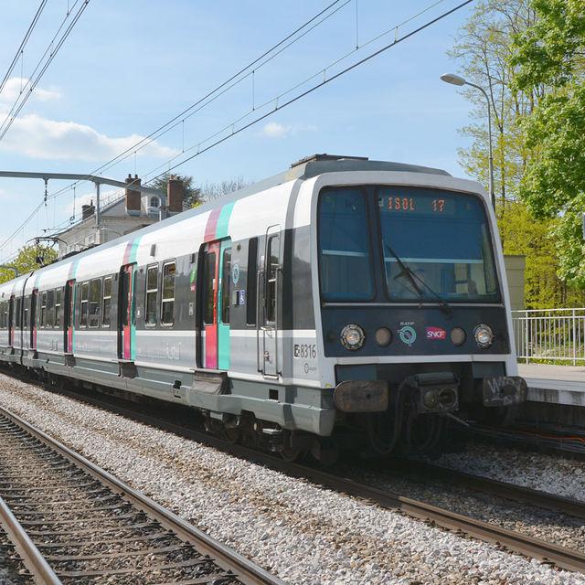RER B à Gif-sur-Yvette.