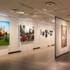 "Exposition ""Histoire, histoires en peintures"" au Val Fleury  Premier étage - Julien Beneyton, Damien Cadio, Nina Childress"