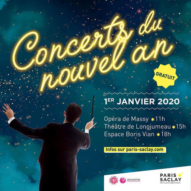 Concerts inattendus de Nouvel An 2020