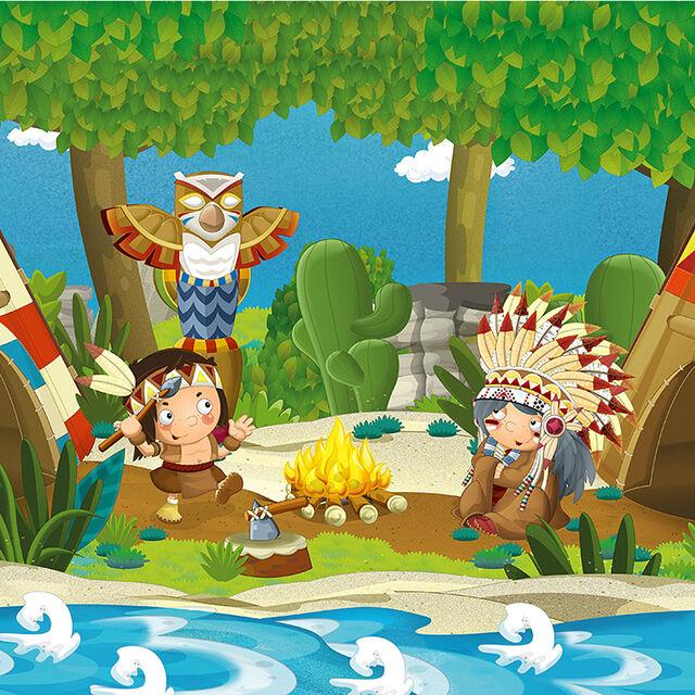 Spectacle de contes à la médiathèque : Les aventures de Plume d'aigle
