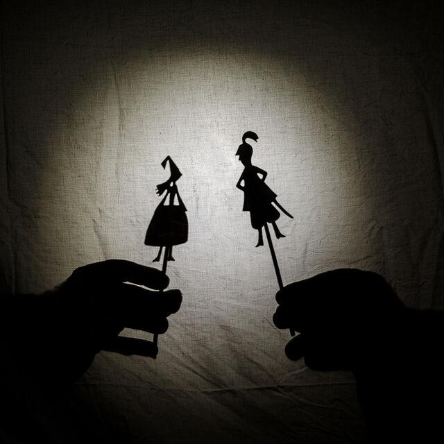 Théâtre d'ombres : spectacle et tuto