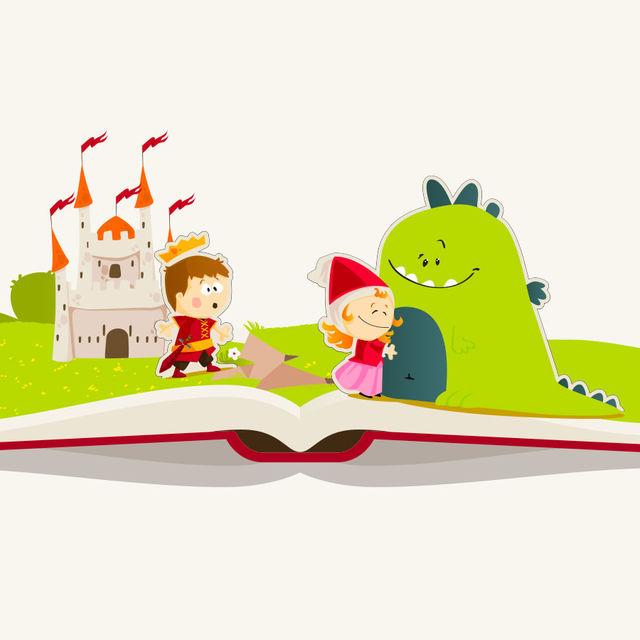 Illustration d'un conte pour enfant