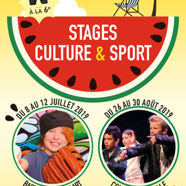 Stages Culture & sports.
