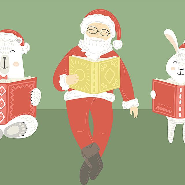 Veillées contes de Noël à la médiathèque