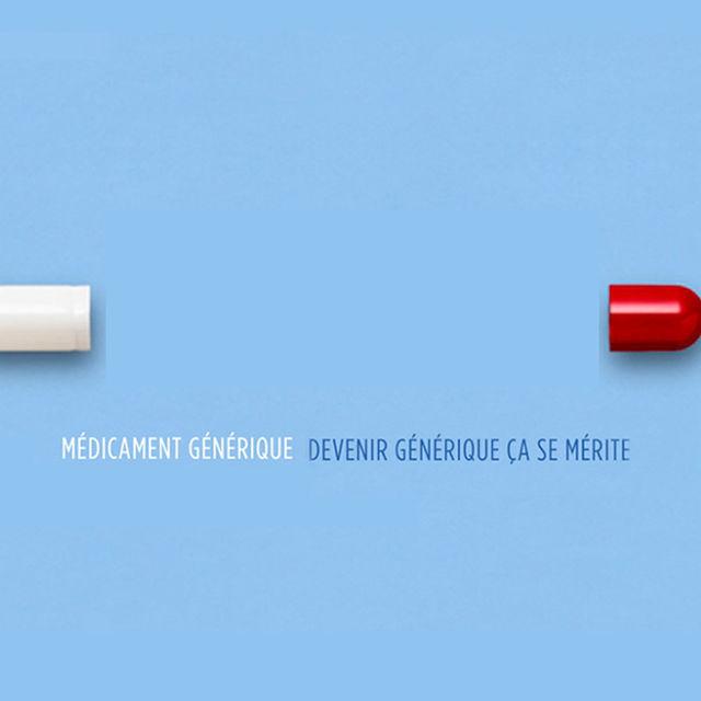 Campagne d'information sur le médicament générique.