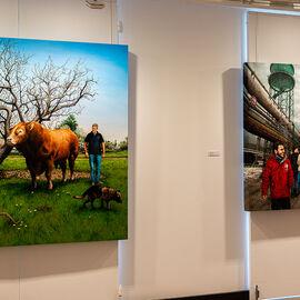 """Exposition """"Histoire, histoires en peintures"""" au Val Fleury  Premier étage - Julien Beneyton"""