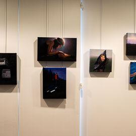 """Exposition """"Histoire, histoires en peintures"""" au Val Fleury  Premier étage - Audrey Nervi"""