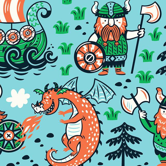 Conte interactif à la ludothèque : une histoire de viking