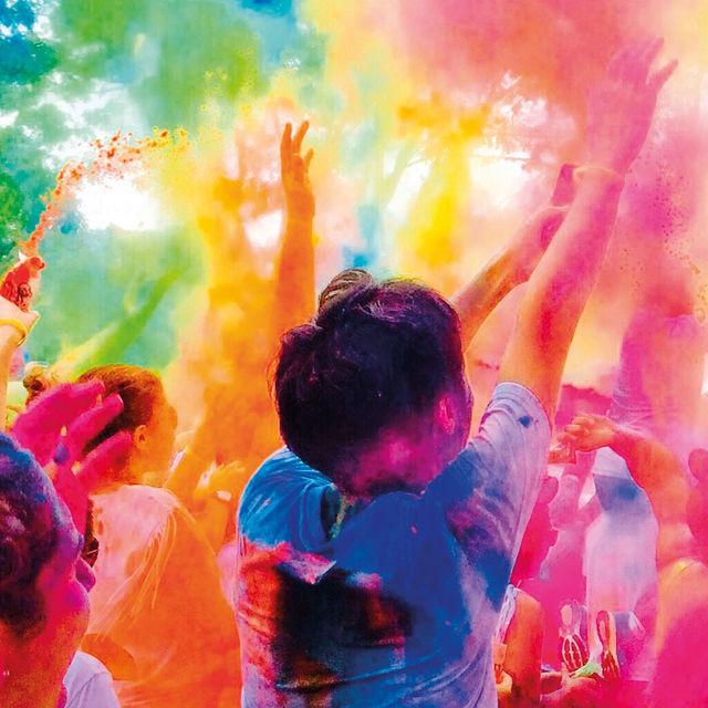Course Color Run du Conseil Des Jeunes de Gif.
