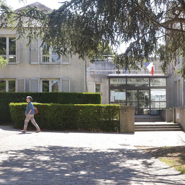 La mairie de Gif-sur-Yvette