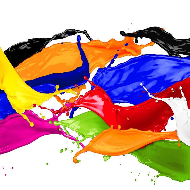 """Atelier famille """"peinture sans pinceau"""" spécial maternels"""