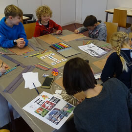 Atelier fabrication de jeu à la ludothèque