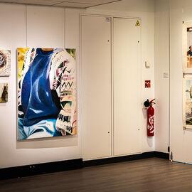 """Exposition """"Histoire, histoires en peintures"""" au Val Fleury  Premier étage - Mireille Blanc, Alain Josseau"""