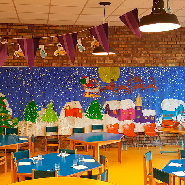 Ecole maternelle - Création d'une fresque.