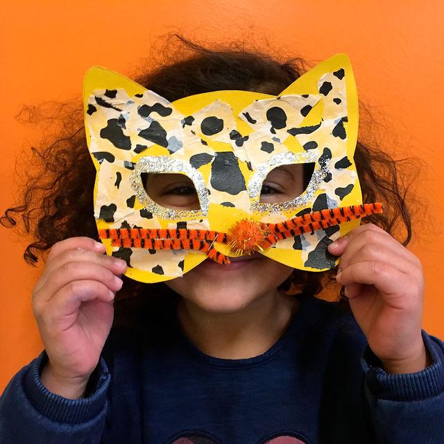 Ecole maternelle - Création de masques.