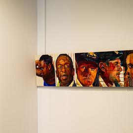 """Exposition """"Histoire, histoires en peintures"""" au Val Fleury  Premier étage - Duncan Wylie"""