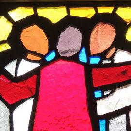 Atelier famille : initiation au vitrail
