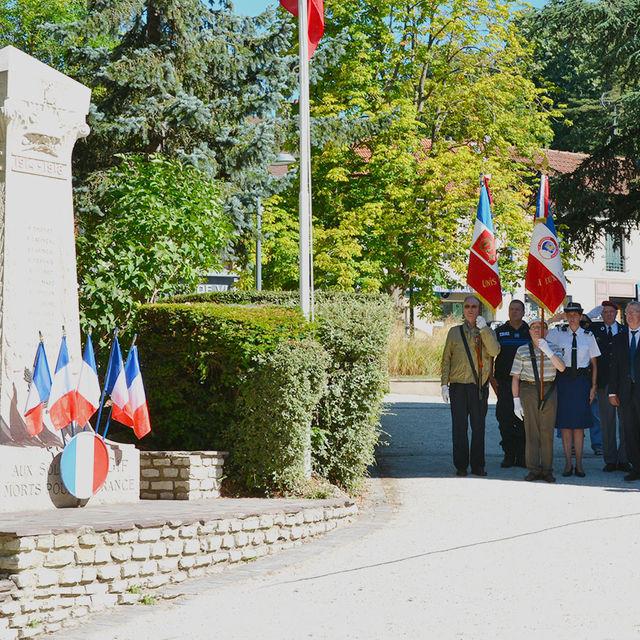 Commémoration de de la libération de Gif.