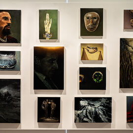 "Exposition ""Histoire, histoires en peintures"" au Val Fleury  Premier étage - Damien Cadio"