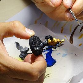 Club Ludo : stage peinture jeu de figurines