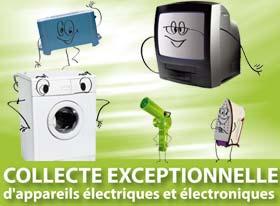 Collecte exceptionnelle de d chets lectroniques agenda mairie de gif sur - Collecte appareils electroniques ...